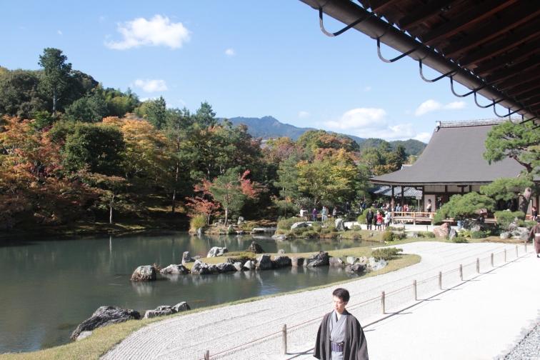 The gardens of Tenryu-ji