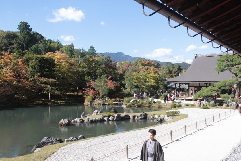 The gardens of Tenryu-ji