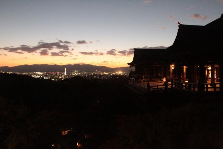 View of Kyoto from Kyomisudera
