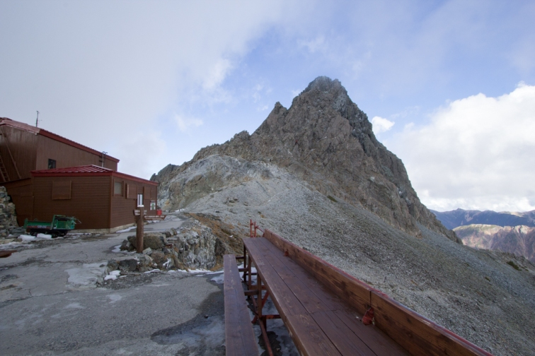 Mt. Yari and the Chalet