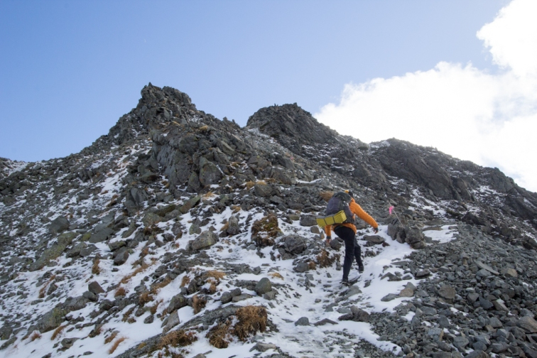 Scaling the first mountain